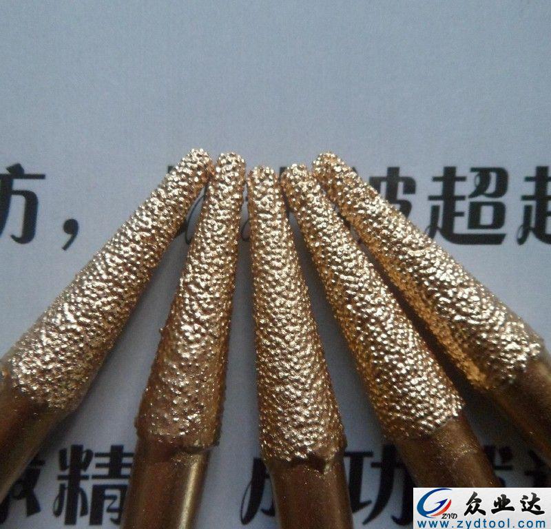 银焊锥度球刀